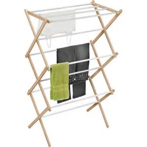 honey can do wood accordion drying rack walmart