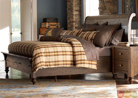solid pine bedroom set southern pines solid pine rustic finish storage bedroom set