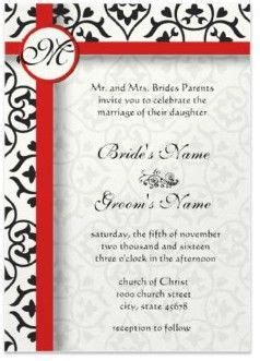 Wedding Side Border by Things About Damask Wedding Invitations Damasks