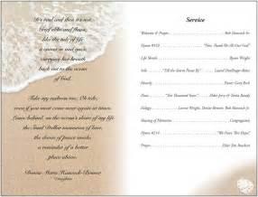 funeral brochure templates free best agenda templates