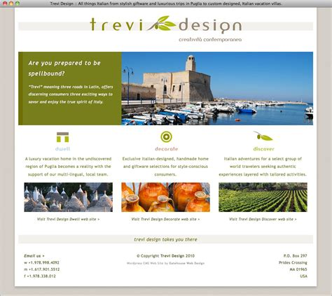 Homepage Design by Web Page Design