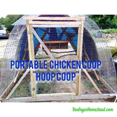 How to build a chicken tractor quot hoop coop quot realeyes permaculture homestead