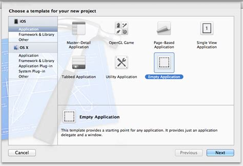 Xcode Ios Project Templates differences between xcode project templates for ios apps ole begemann