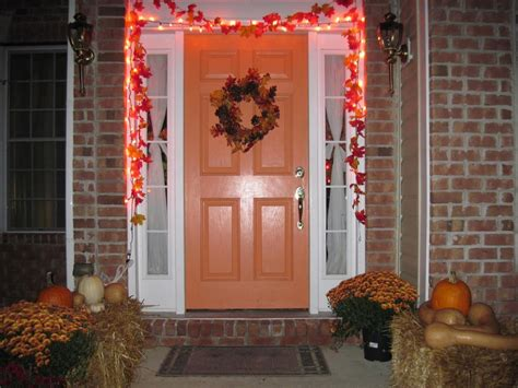 Front Door Decorations For Fall Fall Front Door Decorations Office And Bedroom Front Door Decorations