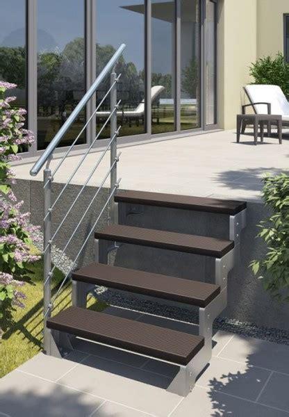 Gartentreppe Stahl