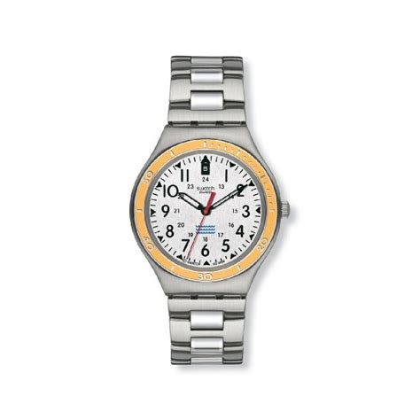 swatch mens snice silver stainless steel bracelet