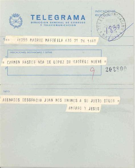 el telegrama que salv 8498929040 la muerte del telegrama 191 para qu 233 se siguen usando hoy d 237 a ideal