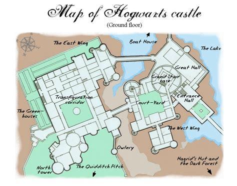 hogwarts castle floor plan danielle s blog hogwarts map
