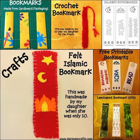 printable muslim bookmarks islamic bookmark ramadan crafts muslim karimas crafts