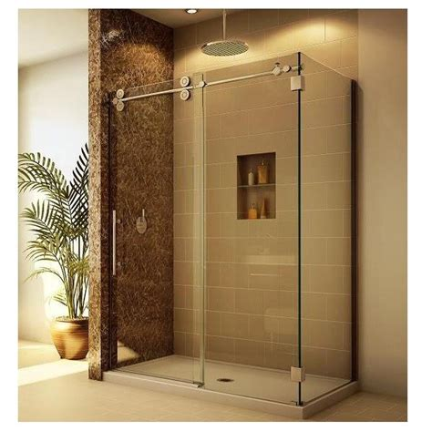bathroom glass sliding shower doors bathroom sliding glass door