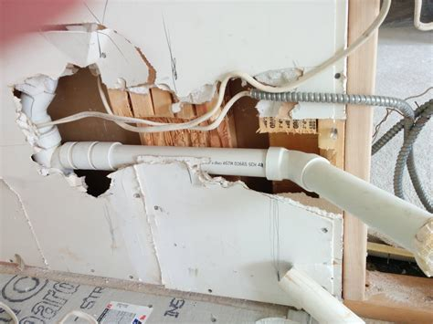 how to run plumbing walls plumbing cuts through five studs is ok home