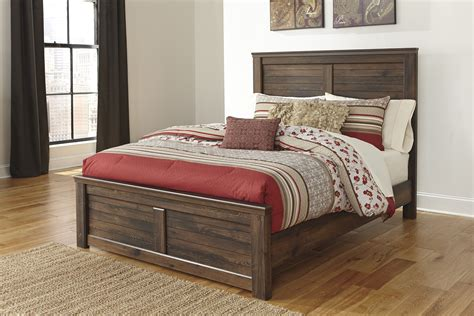 ashley furniture quinden queen panel bed  classy home