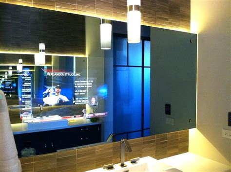 Tv In Bathroom Mirror Cost by New Tv Mirror Really Inspiring Design
