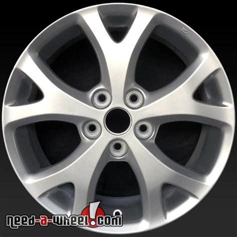 mazda  oem wheels   silver rims