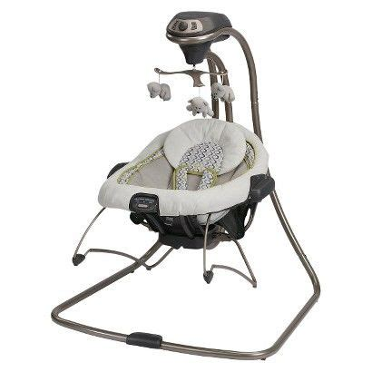 graco cherry blossom swing graco duet connect 2 in 1 swing and bouncer baby stuff