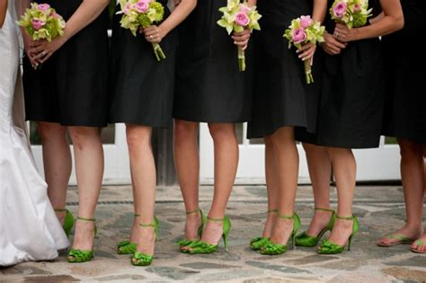 trend alert brightly colored shoes with black