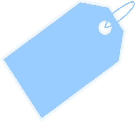 tag clipart blue label clip at clker vector clip