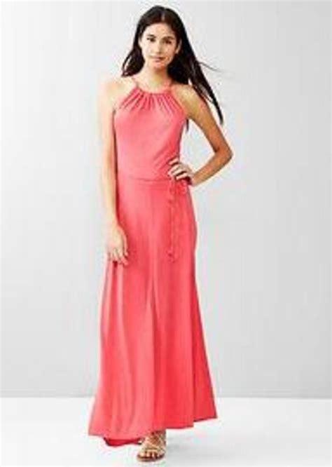 Gap Dress gap panel maxi dress dresses shop it to me