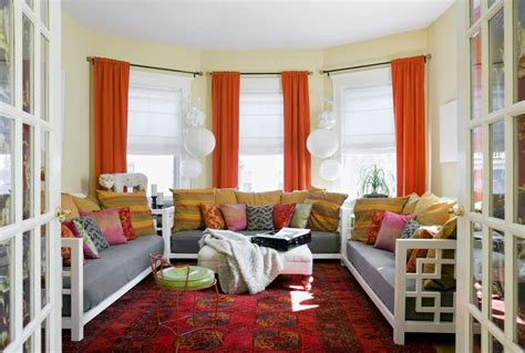red and orange living room red orange and yellow living room creating my home