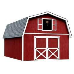 Barn Cupola Lowes Shop Best Barns Roanoke Without Floor Gambrel Engineered