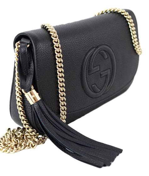 Chain Crossbody Bag gucci black leather chain crossbody bag tradesy