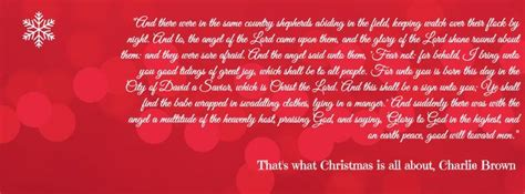 linus christmas speech fb cover creations pinterest