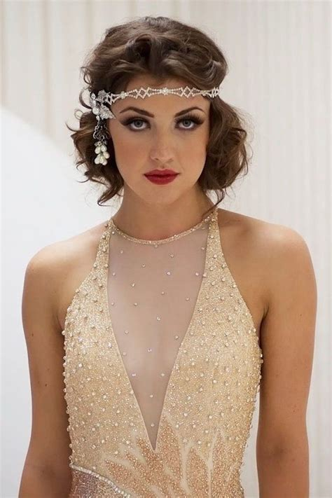 easy 1920s hairstyles 1920s great gatsby makeup ideas pinteres