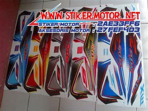 Striping Lis Stiker Mio Soul Gt 11 stiker motor mio soul mx thailand stikermotor net