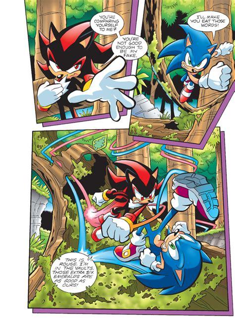 exclusive preview sonic super digest 4 comic vine