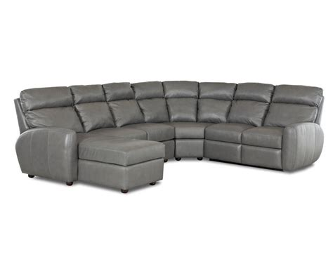 best made leather sofas made best reclining leather sectional ventana clp114