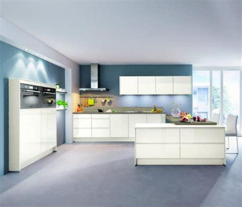 cuisine blanche laqu馥 catalogue de cuisines modulables