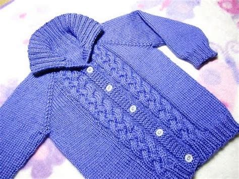 how to knit a baby sweater how to knit a seamless braided cable baby sweater part 3