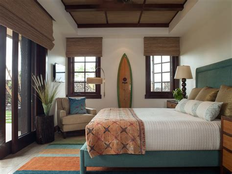 hawaii window covering ideas bedroom tropical with shades