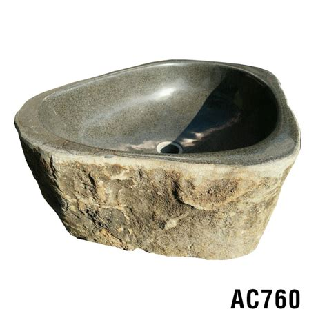 Handmade Rock - limited ariellina rock sink oval handmade