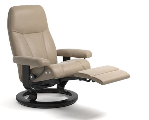 classic recliner chairs stressless consul power legcomfort classic base recliner