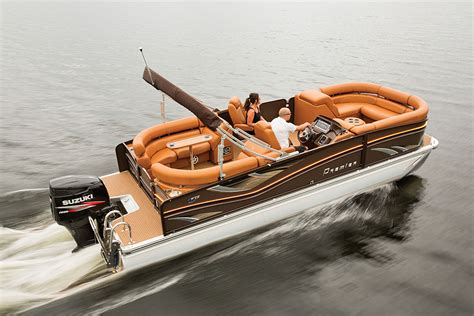 brand new pontoon boats premier 230 intrigue brand new 23 foot luxury pontoon