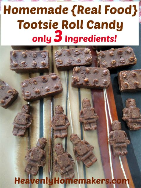 Handmade Real Foods - real food tootsie roll for