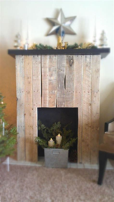 Made Fireplace by Diy Faux Fireplace The Budget Decorator