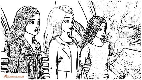 coloring pages barbie spy squad 90 coloring pages barbie spy squad barbie in