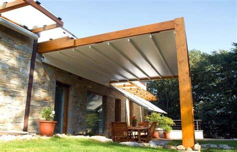 pergola stoff pergola aus holz mit stoff bespannung terrassen dach