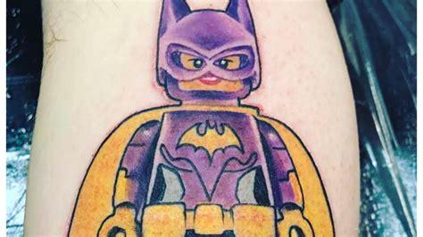 batman batgirl tattoo inked wednesday 123 lego batgirl leia and more geeky