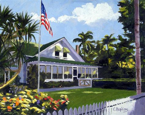 Palm Cottage by Palm Cottage Naples Florida Painting By Christine