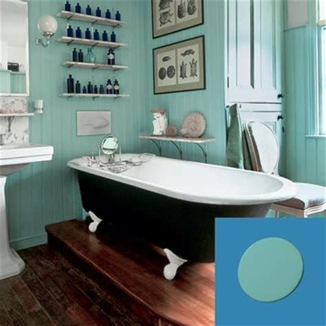 how to create a vintage style bathroom turquoise interior painting and