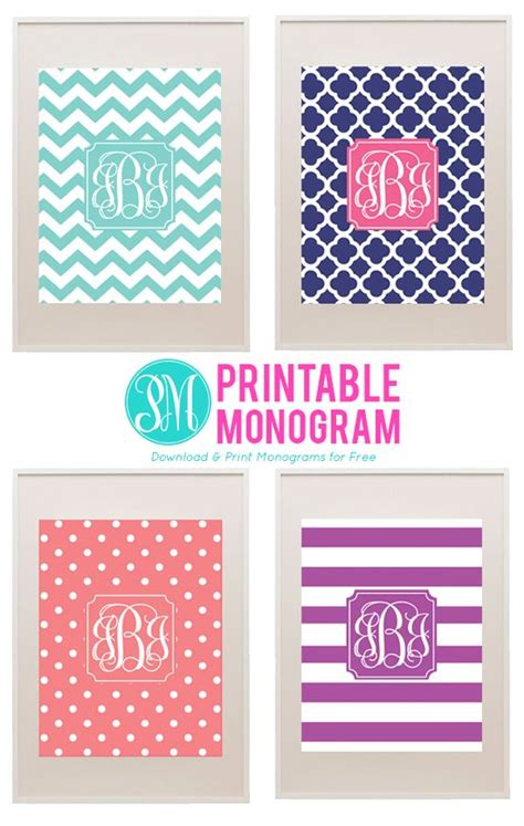 Free Printable Monogram Templates desktop wallpaper ideas free printable monogram site printablemonogram
