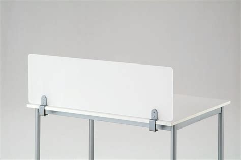 amazon com desk divider partition cl on frosted acrylic office classroom privacy screen