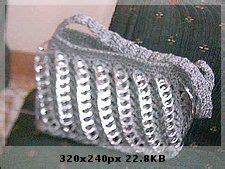 bolsas tejidas con fichas bolsos con anillas de refresco on pinterest pop tab