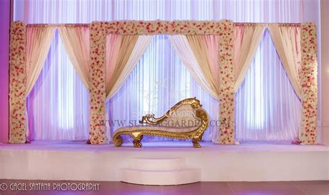 simple wedding stage decoration with flowers homemade suhaag garden www suhaaggarden com blog wedding