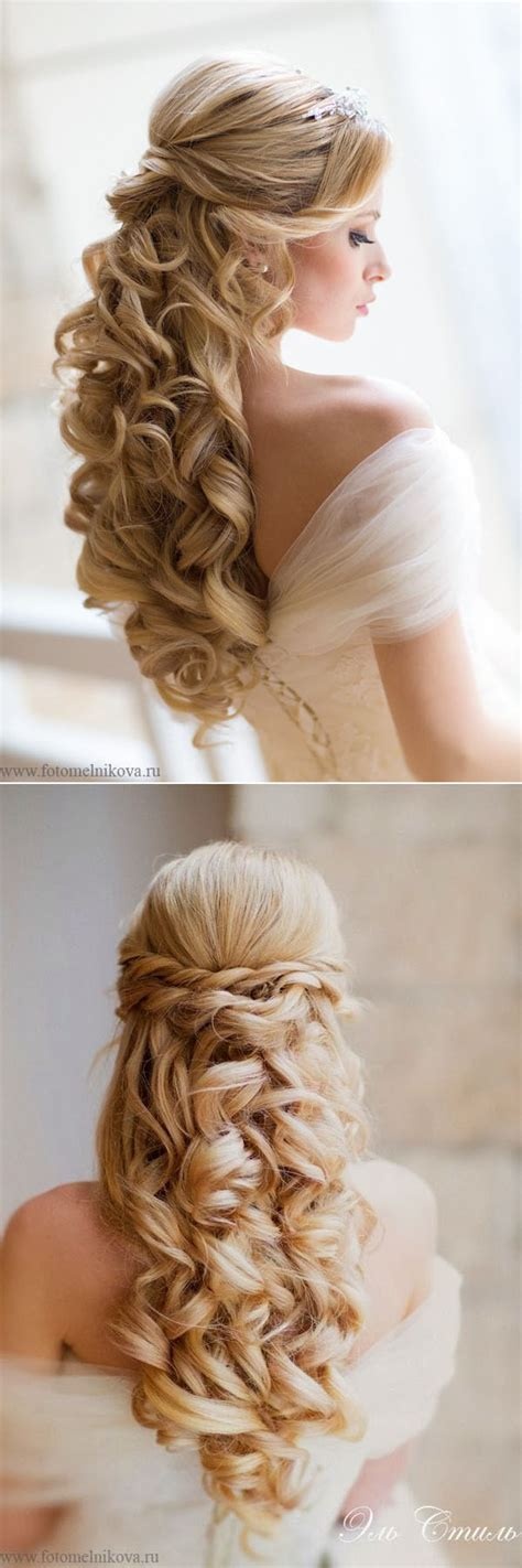 soft curl hairstyle 55 romantic wedding hairstyle ideas having a perfect