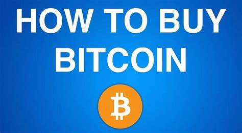 how to buy your first bitcoin in 2 easy steps