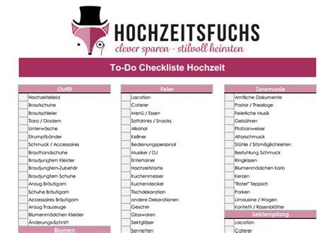 Hochzeit Checkliste Pdf by 3 Hochzeitschecklisten Kostenlose Planer Zum